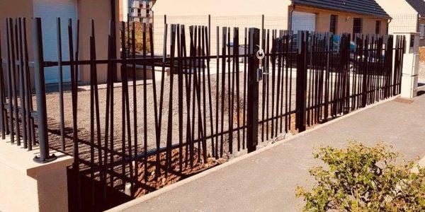 Paysagiste Jardinier Oise - Création et pose clôture - Gaudion Paysage